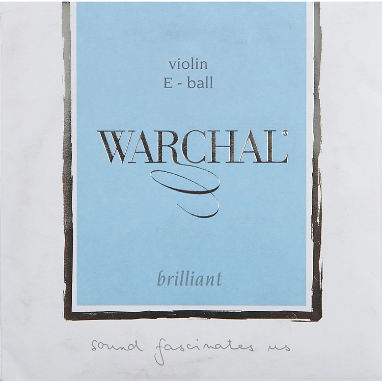 Warchal Brilliant 4/4 Size Violin Strings 4/4 E String, Loop End