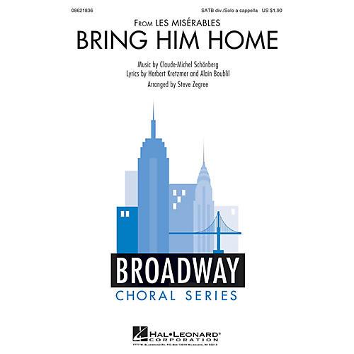 Hal Leonard Bring Him Home (from Les Misérables) SATB DIVISI arranged by Steve Zegree-thumbnail