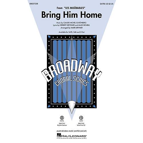 Hal Leonard Bring Him Home (from Les Misérables) SATB arranged by Mark Brymer-thumbnail