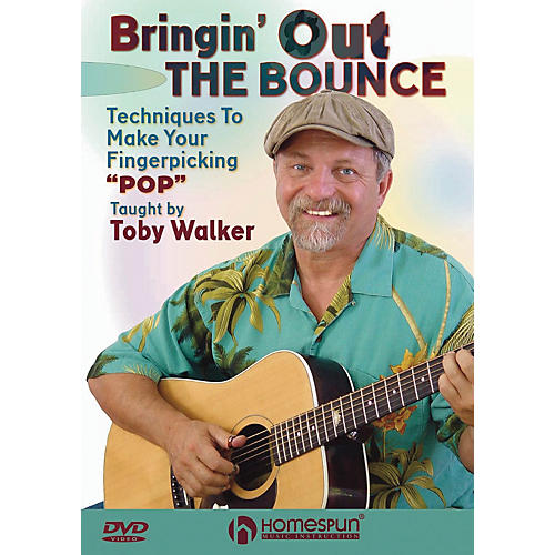 Homespun Bringin' Out the Bounce Homespun Tapes Series DVD Written by Toby Walker-thumbnail