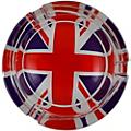 C&D Visionary British Flag Glass Ashtray