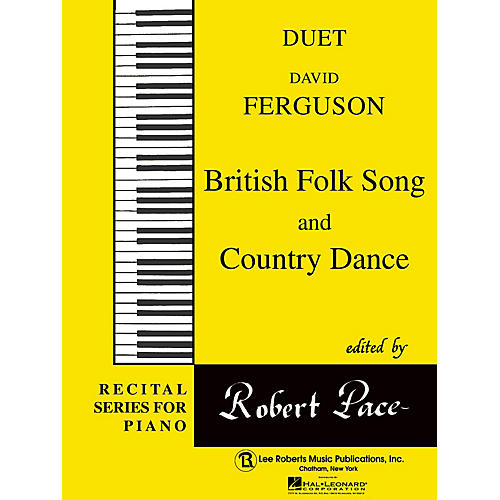 Lee Roberts British Folk Song  & Country Dance Pace Duet Piano Education Series Composed by David Ferguson-thumbnail