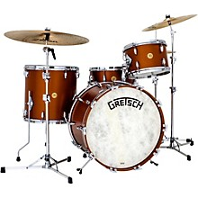"Gretsch Drums Broadkaster Series 3- Piece Shell Pack with 22"" Bass Drum and Vintage Hardware Satin Copper"