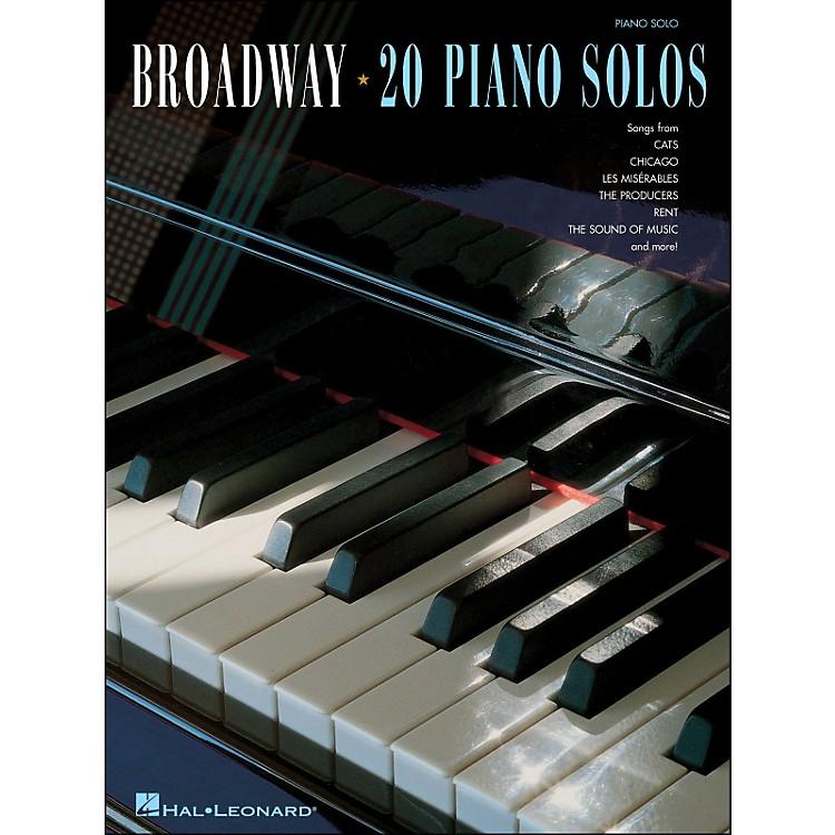 Hal LeonardBroadway - 20 Piano Solos