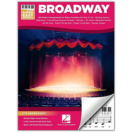 Hal Leonard Broadway - Super Easy Songbook-thumbnail