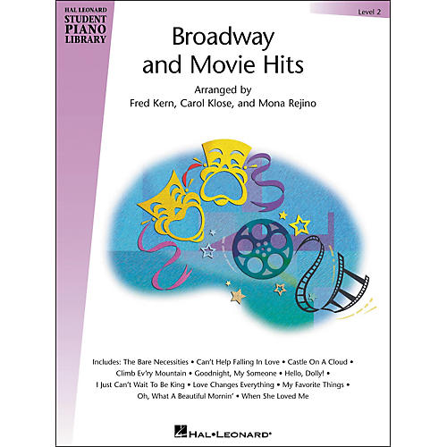 Hal Leonard Broadway And Movie Hits Level 2 Book Hal Leonard Student Piano Library