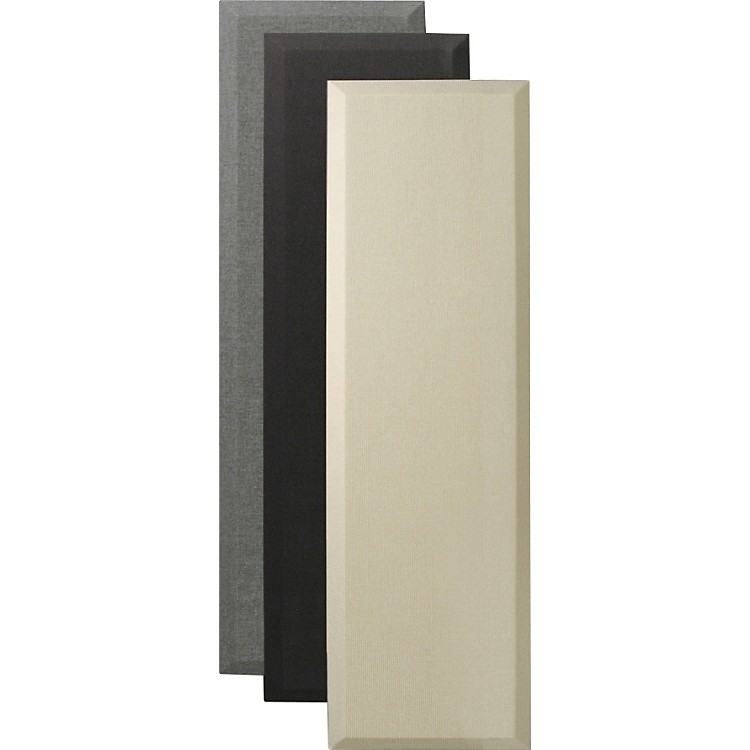 Primacoustic Broadway Audio Control Columns with Beveled Edges 2X12X48 Black