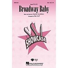 Hal Leonard Broadway Baby (from Follies) ShowTrax CD Arranged by Mac Huff