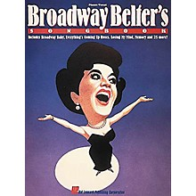 Hal Leonard Broadway Belter's Songbook Vocal Book
