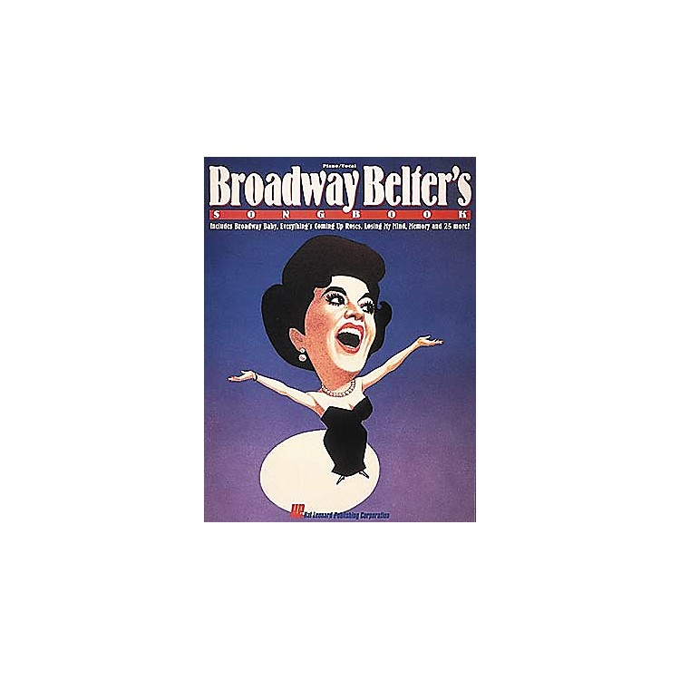 Hal LeonardBroadway Belter's Songbook Vocal Book
