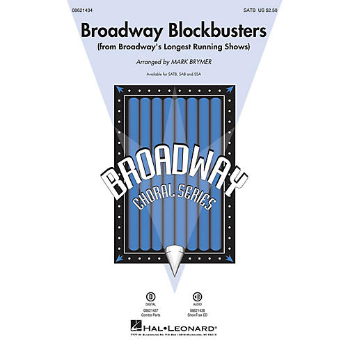 Hal Leonard Broadway Blockbusters (from Broadway's Longest Running Shows) ShowTrax CD Arranged by Mark Brymer