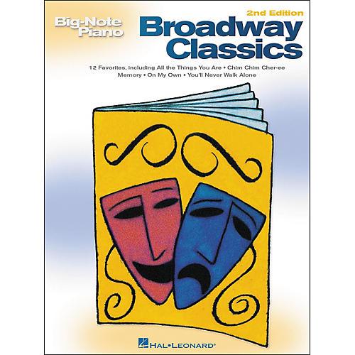 Hal Leonard Broadway Classics for Big Note Piano 2nd Edition-thumbnail