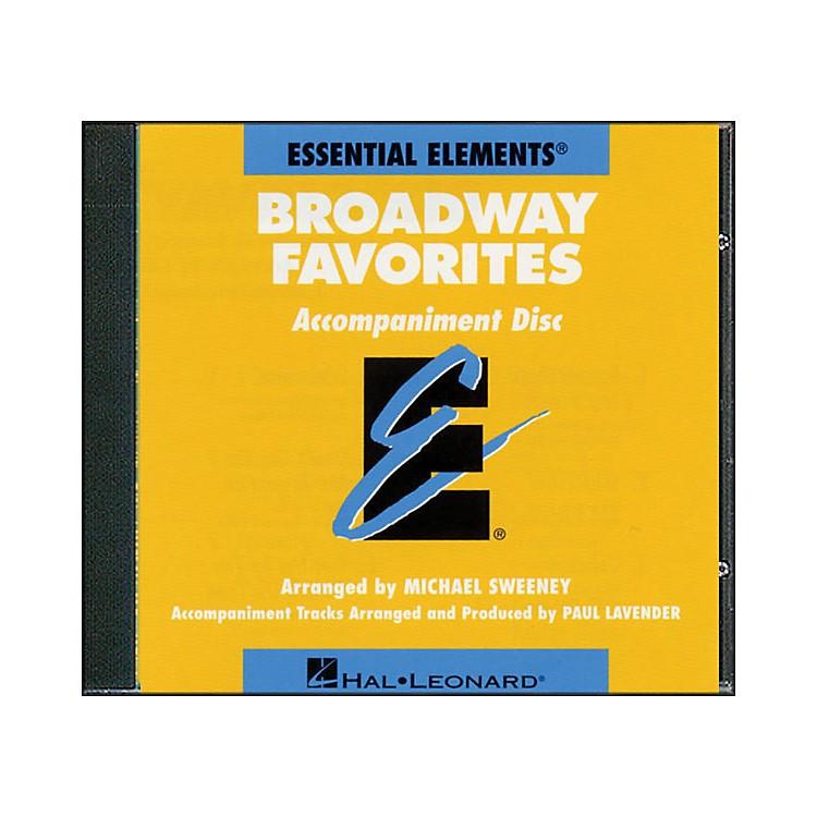 Hal LeonardBroadway Favorites - CD Essential Elements Band CD Accompaniment
