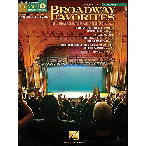 Hal Leonard Broadway Favorites - Pro Vocal Series Volume 4 for Women/Men Book/CD-thumbnail
