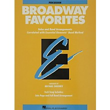 Hal Leonard Broadway Favorites Percussion Essential Elements Band