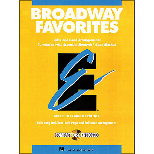 Hal Leonard Broadway Favorites Tenor Saxophone Essential Elements Band