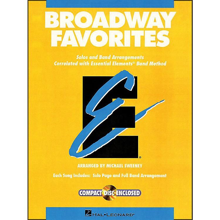 Hal LeonardBroadway Favorites Tenor Saxophone Essential Elements Band