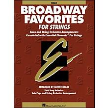 Hal Leonard Broadway Favorites for Strings Cello Essential Elements