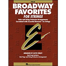 Hal Leonard Broadway Favorites for Strings Violin Essential Elements