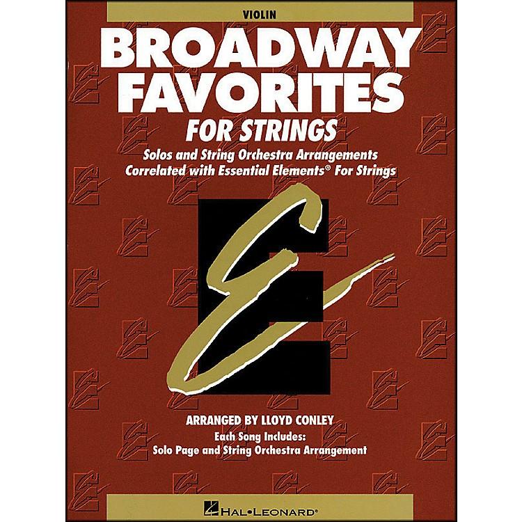 Hal LeonardBroadway Favorites for Strings Violin Essential Elements