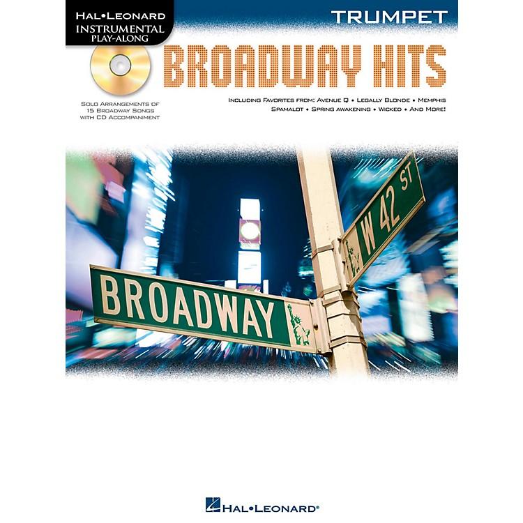 Hal LeonardBroadway Hits For Trumpet - Instrumental Play-Along Book/CD
