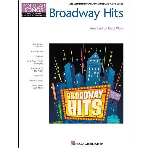 Hal Leonard Broadway Hits Late Elementary/Early Intermediate Piano Solo Hal Leonard Student Piano Library by Carol Klose-thumbnail