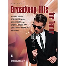 Music Minus One Broadway Hits for Tenor Music Minus One Series Softcover with CD  by Various