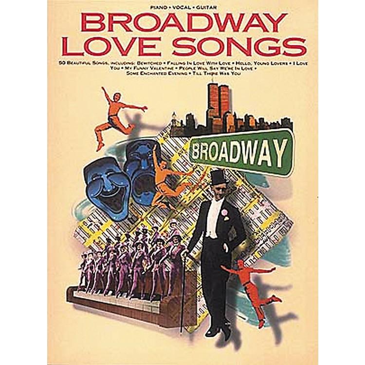 Hal LeonardBroadway Love Songs Piano, Vocal, Guitar Songbook