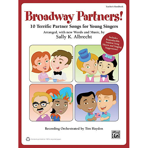 Alfred Broadway Partners! A Jolly Holiday Songbook (Book/CD)-thumbnail