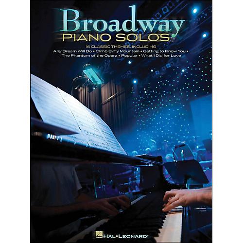 Hal Leonard Broadway Piano Solos