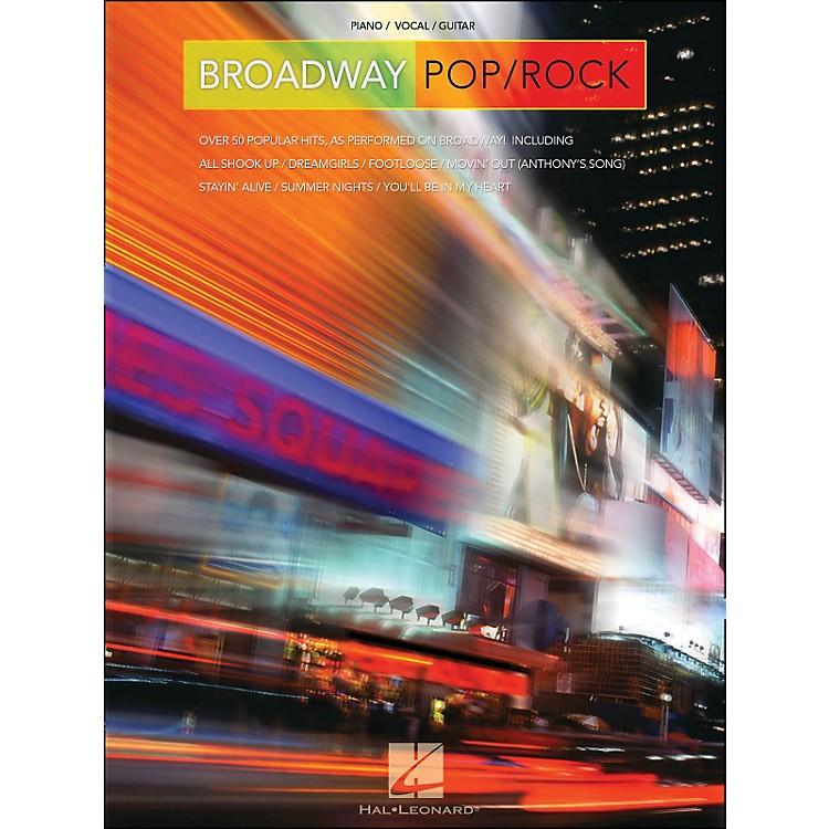 Hal LeonardBroadway Pop/Rock arranged for piano, vocal, and guitar (P/V/G)