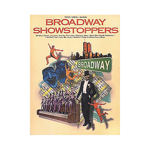 Hal Leonard Broadway Showstoppers Piano, Vocal, Guitar Songbook-thumbnail