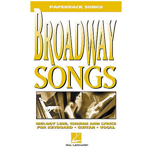 Hal Leonard Broadway Songs Book-thumbnail