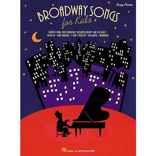 Hal Leonard Broadway Songs For Kids For Easy Piano