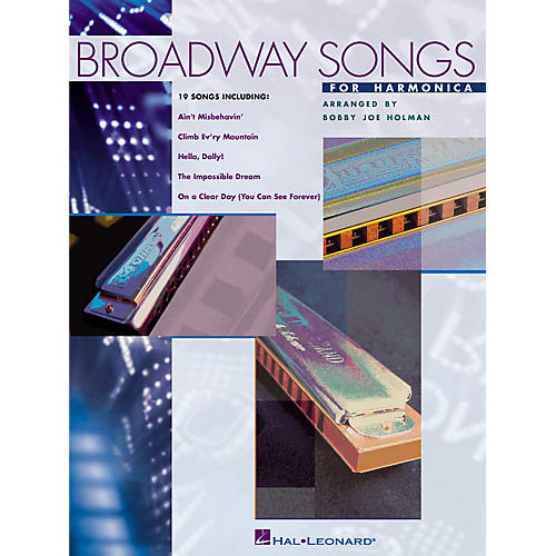 Hal Leonard Broadway Songs for Harmonica Harmonica Series-thumbnail
