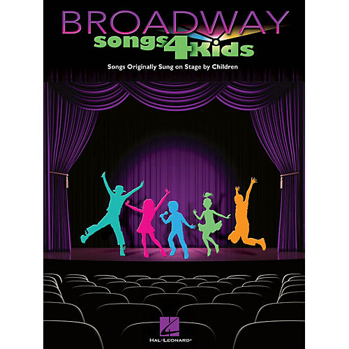 Hal Leonard Broadway Songs for Kids Piano/Vocal/Guitar Songbook Series Softcover-thumbnail