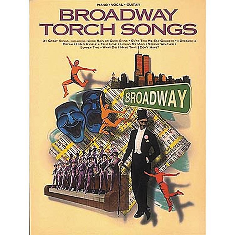 Hal LeonardBroadway Torch Songs Piano, Vocal, Guitar Songbook