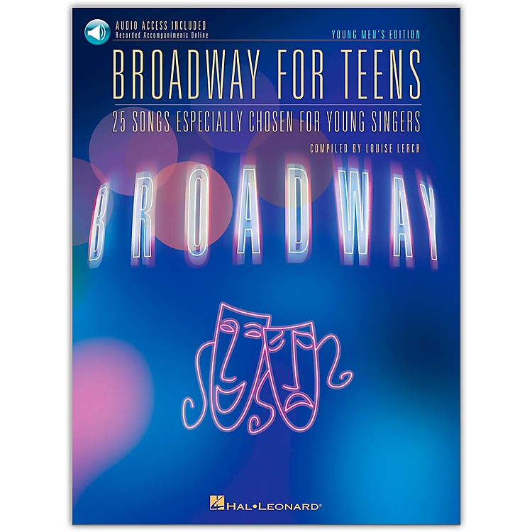 Hal LeonardBroadway for Teens - Young Men's Edition Book/CD