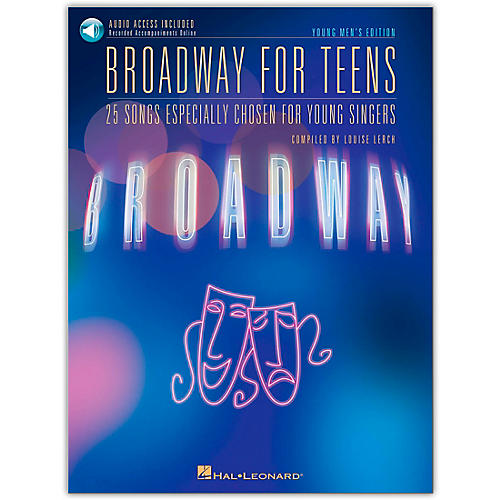 Hal Leonard Broadway for Teens - Young Men's Edition Book/Online Media-thumbnail