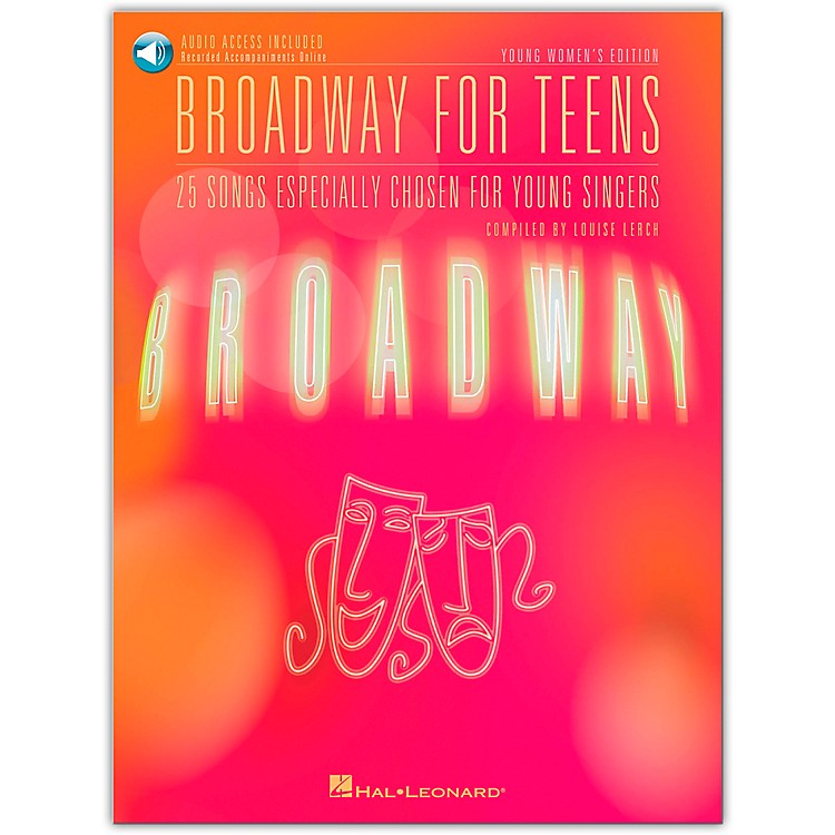 Hal Leonard Broadway for Teens - Young Women's Edition Book/CD