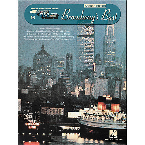 Hal Leonard Broadway's Best 2nd Edition E-Z Play 16