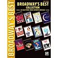 Alfred Broadway's Best Collection Easy Piano Book