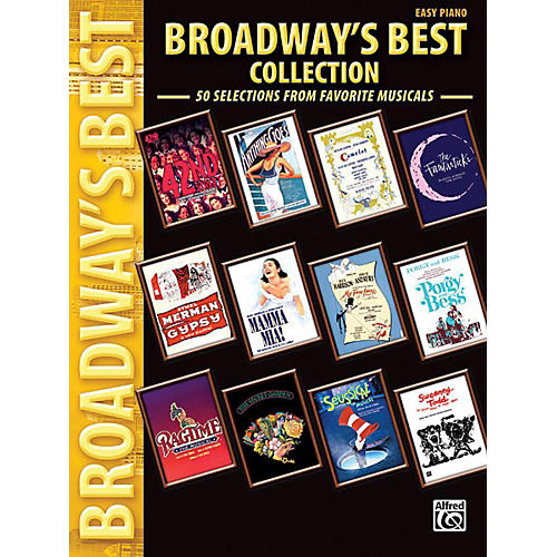 Alfred Broadway's Best Collection Easy Piano Book-thumbnail