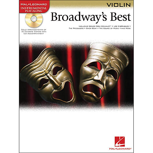 Hal Leonard Broadway's Best For Violin Book/CD-thumbnail