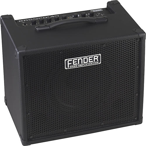 Fender Bronco 40 40W 1x10 Bass Combo Amp Black