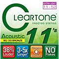 Cleartone Bronze Custom Acoustic Guitar Strings Light Thumbnail
