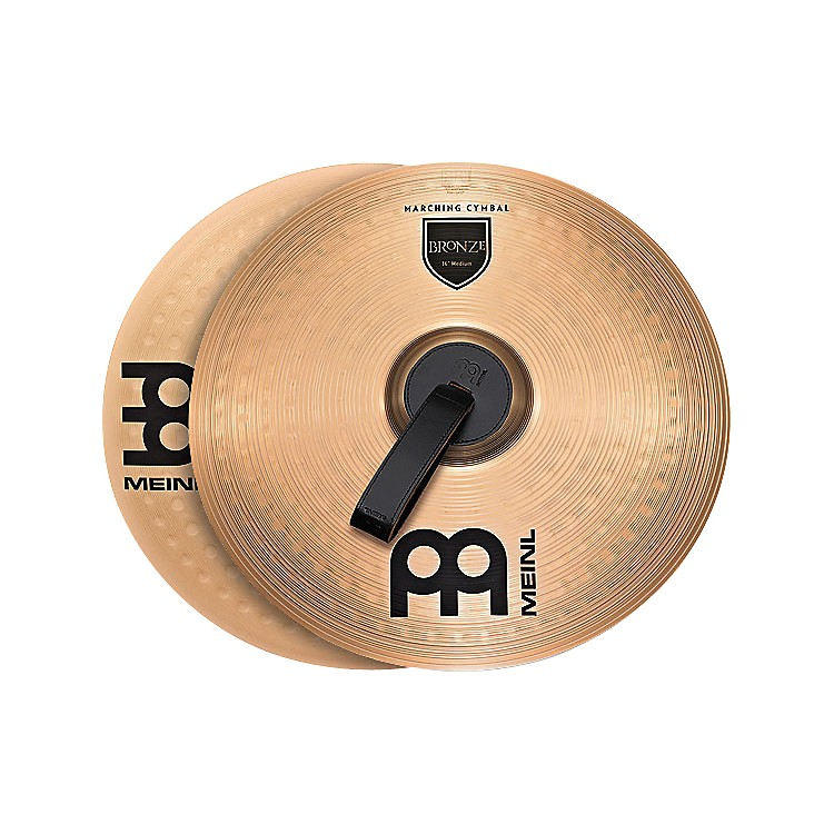 Meinl Bronze Marching Medium Cymbal Pair 16 inch