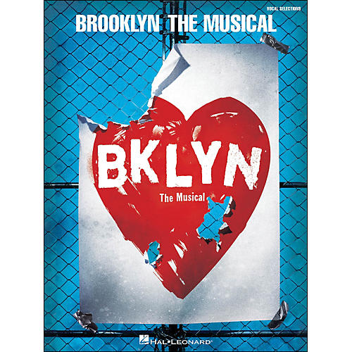 Hal Leonard Brooklyn - The Musical arranged for piano, vocal, and guitar (P/V/G)-thumbnail