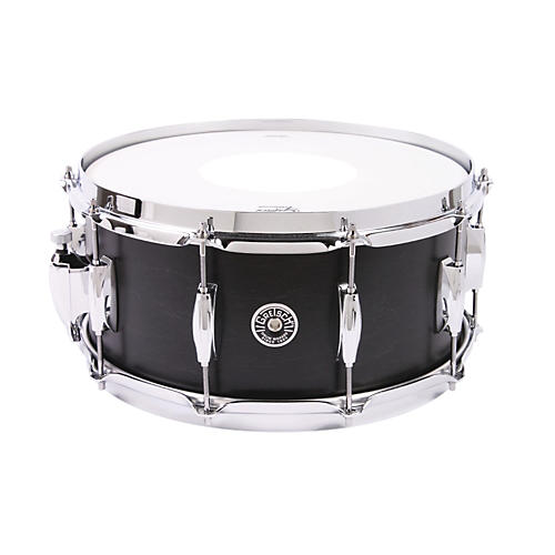 Gretsch Drums Brooklyn Series Snare Drum Dark Ebony 6.5X14
