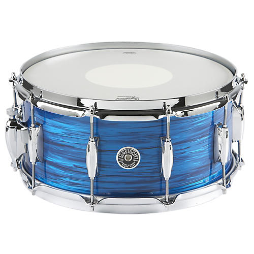 Gretsch Drums Brooklyn Series Snare Drum Royal Blue Oyster 6.5X14
